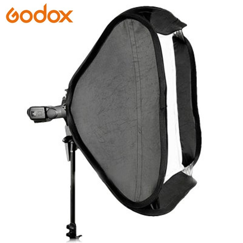 Godox SFUV6060 Professional 2-in-1 Photo Studio Kit 60 x 60cm Softbox with S-type Flash Speedlite Bracket