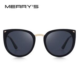 Image 2 - MERRYS DESIGN Children Cat Eye Sunglasses Girls Polarized Sunglasses UV400 Protection S7000