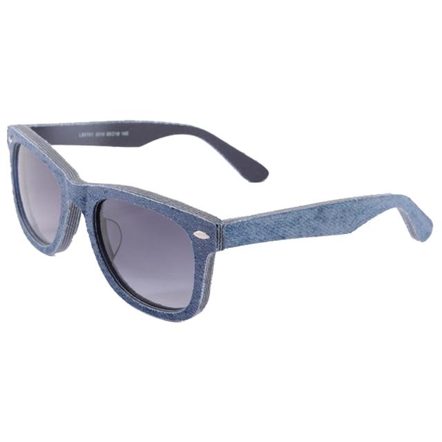 2015 новинка джинсовые очки женщин людей модной очки спортивные очки кр-39 объектив 5010