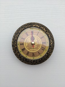 Image 5 - 5PCS The Old Battery Quartz Clock Insert Diameter 92MM DIY Desk Clock Making Kits
