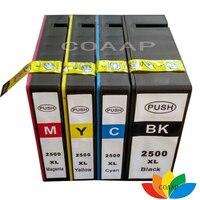 4x pgi2500 2500xl uyumlu mürekkep canon için kartuş pgi 2500 MAXIFY iB 4050 MB 5050 5350 Yazıcı