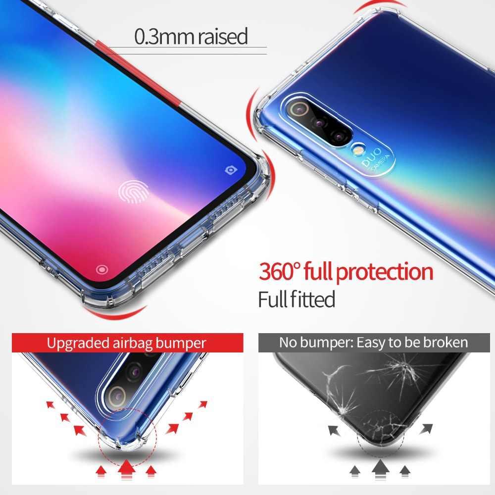 Для Xiaomi mi 9 8 SE Explorer mi 6 6X 5X A1 A2 lite pocophone F1 чехол Msvii силиконовый прозрачный красный mi S2 6 7 note 5 7 pro крышка