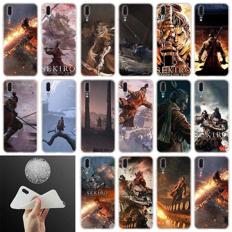 Game Sekiro Soft Silicone Phone Case For Huawei P30 P20 P30Pro P10 P9 P8 Lite 2017 P samrt 2019 Plus Cover image