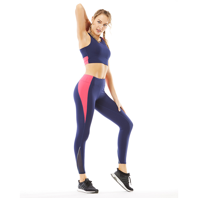 Sports Wear For Women Gym Sets 2 Piece Womens Exercise Workout Clothing Hot Yoga Clothes Bra Seamless Leggings