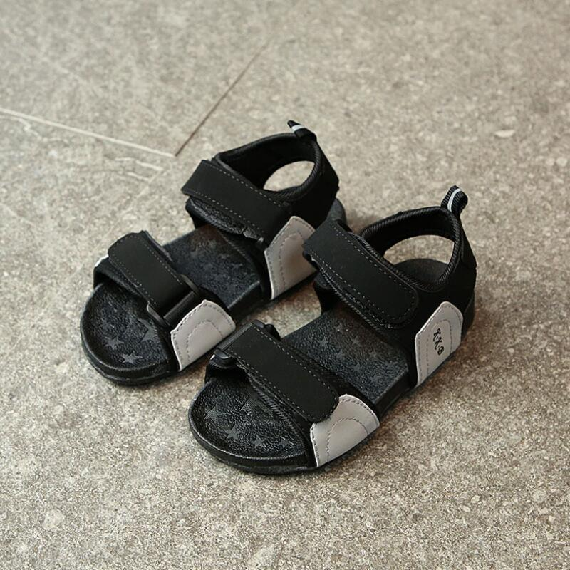 SKHEK Boy Sandals New Summer Baby Toddler Shoes Girls Open Toe Sandals For Little Kids Casual Sandals Comfortable Shoes