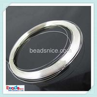 Beadsnice ID26885 wholesale wire of Jewelry accessories 18ga round solid 925 sterling silver wire