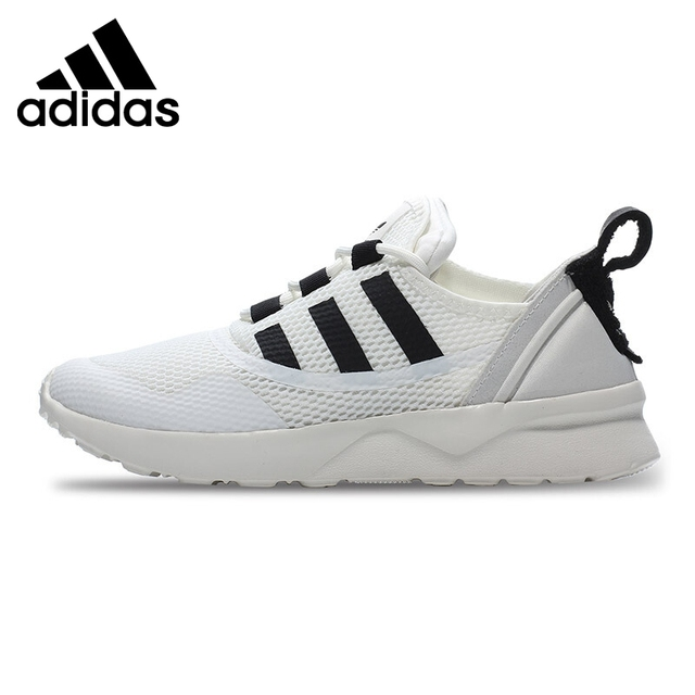 8d019423b Official Original Adidas Originals ZX FLUX ADV VIRTUE W Low Top Women s  Skateboarding Shoes Thread Sneakers Breathable Leisure-in Skateboarding  from Sports ...