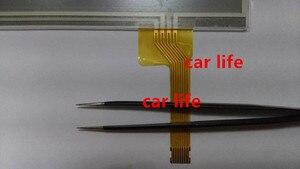 Atacado peças 7 10 polegada 8 pinos de boa qualidade Lente painel Digitador Da Tela de toque de vidro Preto para LTA070B2C1F LCD