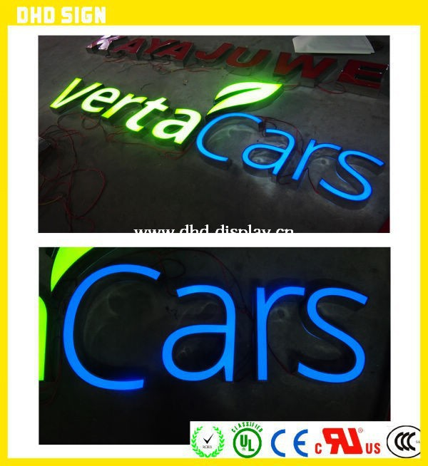 Electronic Components & Supplies Aliexpress 3d Advertising Frontlit Illuminated Sign For Shop Sufficient Supply