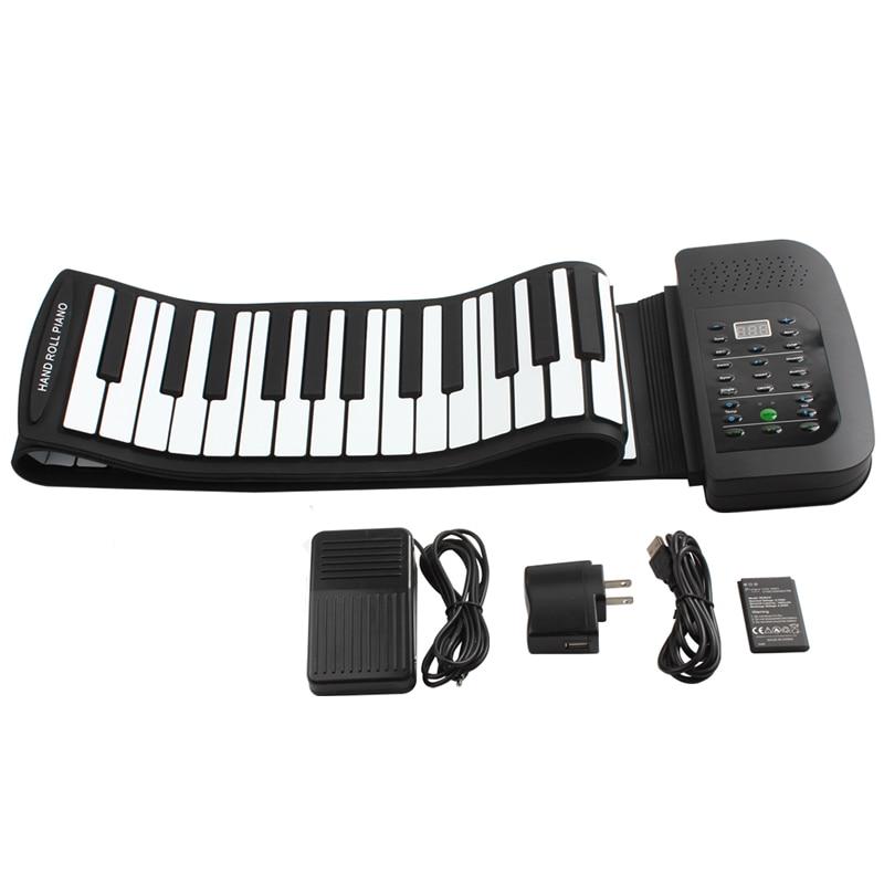 KONIX PA88 Portable 88 Keys Keyboard Piano 140 Tones