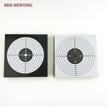 Новые 100 шт целебные бумаги 14x14 тактические вертикальные квадратные мишени страйкбол пистолет Рогатка Пуля для охоты стрельба