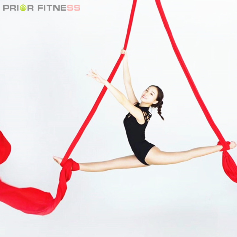 Prior Fitness Top Quality 9Yards 8 2m long Aerial Silks Fabric for Acrobatic Flying Dance Low