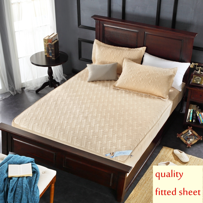 100 Cotton Mattress Protector Quilted Antibacterial Anti Mite Bed Sheet Inclusive