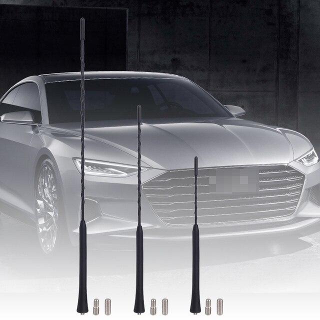 """9 """"11"""" 16 """"עבור טויוטה פורד שברולט BMW מאזדה גולף פולקסווגן אוטומטי רדיו אנטנת רכב אוניברסלי אנטנה רכב תורן"""