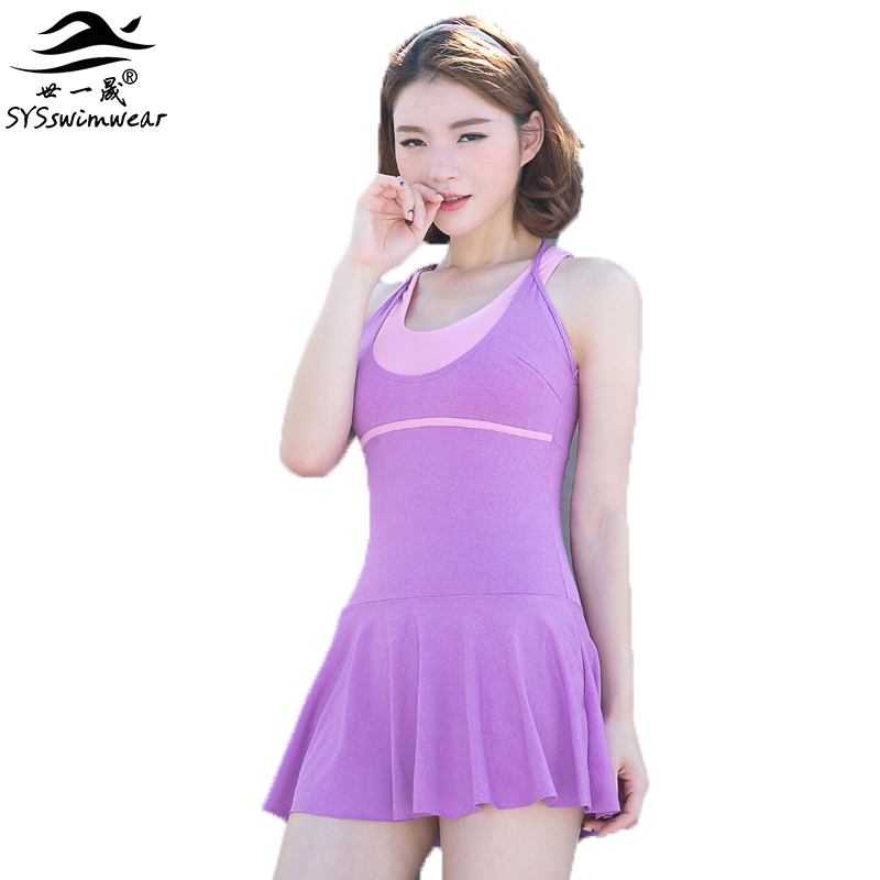 High Quality Summer Beach Backless Sport One Pieces Women Swimwear Hot Sport Girl Swimsuit Solid & Wire Free Pool Bathing Suit  2017 new high quality summer beach sexy women solid bikini swimwear wire free