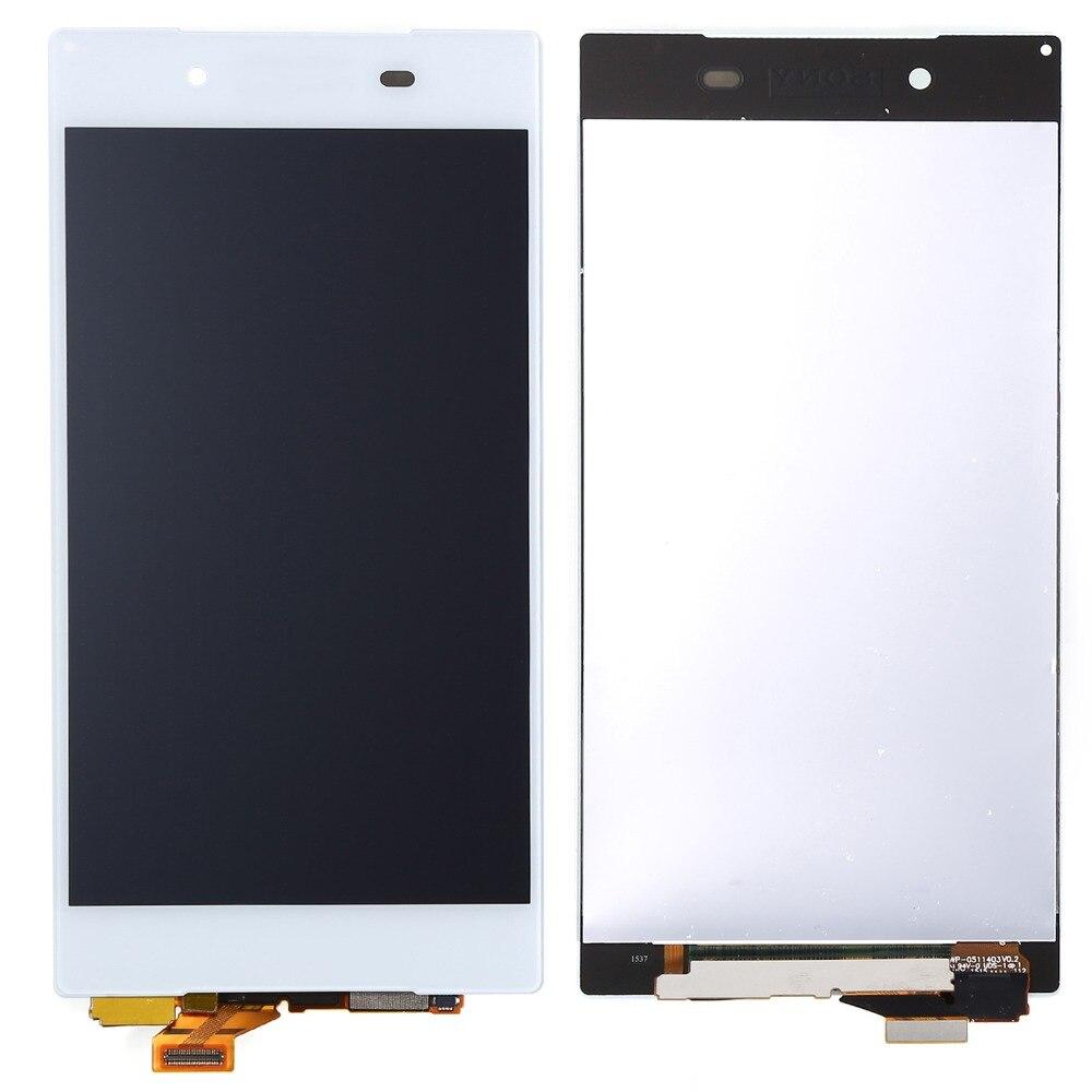 imágenes para Montaje de la Pantalla Táctil del digitizador Para Sony Xperia Z5 e6603, e6633, e6653, e6683 Pantalla LCD de 5.2 pulgadas Libre envío gratuito!