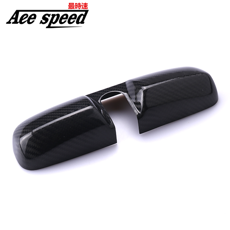 CARBON FIBER REAR VIEW ROOM MIRROR COVER For HONDA ACCORD EURO For CIVIC EP3 FD2 FN2 EK9 DC2 DC5 CRV JAZZ FIT With Original LOGO