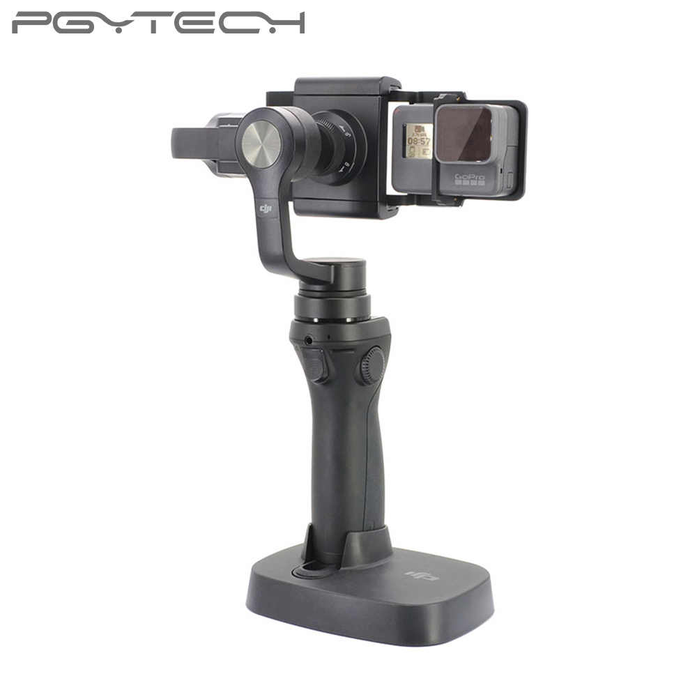 ParaPace Switch Mount Plate Adapter for GoPro Hero 8 7 6 5 4 3 DJI Action Mobile Gimbal Accessories