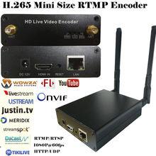 Eszym h265 hevc Вай Фай hdmi видео энкодер потоковый кодировщик
