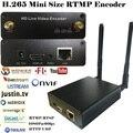 H.265 HEVC wifi HDMI Video Encoder Streaming encoder HDMI Transmitter live Broadcast encoder wireless H265 iptv encoder