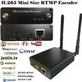 HEVC H.265 wifi HDMI codificador codificador Codificador De Streaming HDMI Transmissor Transmissão ao vivo de Vídeo sem fio H265 iptv codificador