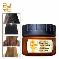 PURC Magical Keratin Repair Hair Mask Treatment For Damaged Hair Care Baked Ointment Moisturizing Hair Conditioner Dry Frizz
