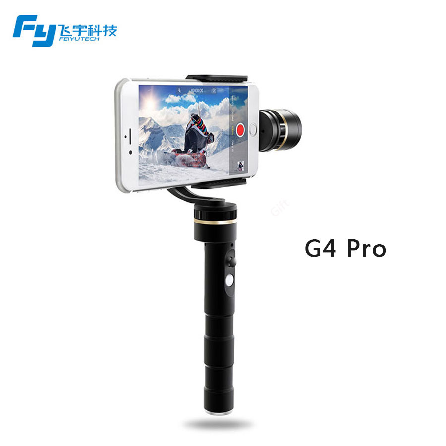 Feiyu G4 pro 3 axis brushless handheld gimbal for smartphone iphone PK Feiyu G4 Plus zhiyun smooth c /2 For iphone 7 free shipping feiyu tech g4 gs gimbal 3 axis brushless gimbal for sony hdr az1vr fdr x1000v as series sport auction camera