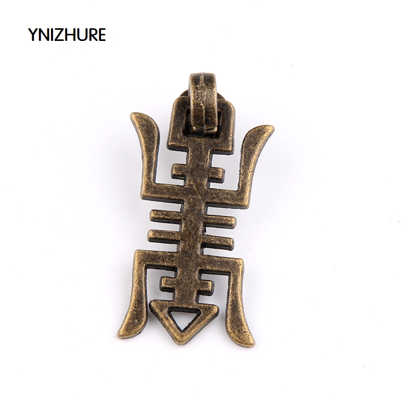 10pcs/lot Chinese Character Antique Bronze Drop Pendant Knobs Pulls Wooden Box Drawer Dresser Knobs Handles for Furniture 3pcs chinese character picture books dictionary for advanced learning chinese character hanzi early educational textbook course