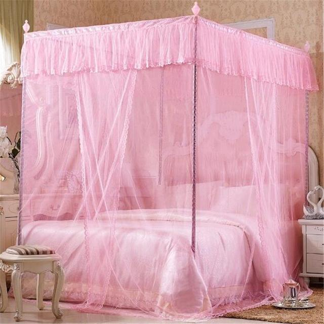 Tienda Online Cuatro esquina Ropa de cama mosquitero dosel sin ...