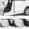 2 pcs DIY plástico ABS estilo Do Carro À Prova de Som porta B pilar Acessórios de vedação tira de Cobertura Caso Adesivos Para Volkswagen POLO
