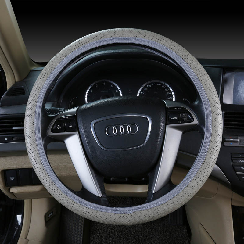 3D Sport Car Steering Wheels Covers Steering Wheel Hubs Car Styling Steering-wheel For BMW Audi Honda Ford Toyoty All Car Sedan