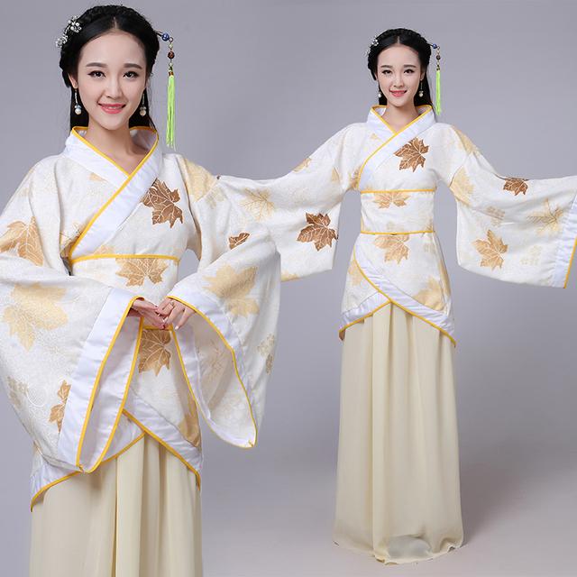 Chinês antigo hanfu dinastia tang traje dress para as mulheres chinês tradicional vestidos de dança de fadas traje hanfu roupas l197