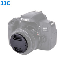JJC tapa de lente de cámara 27mm 28mm 30mm 34mm 37mm 39mm 40,5mm 43mm 46mm 49mm 52mm 55mm 58mm 62mm 67mm 72mm Protector de lente de tamaño completo