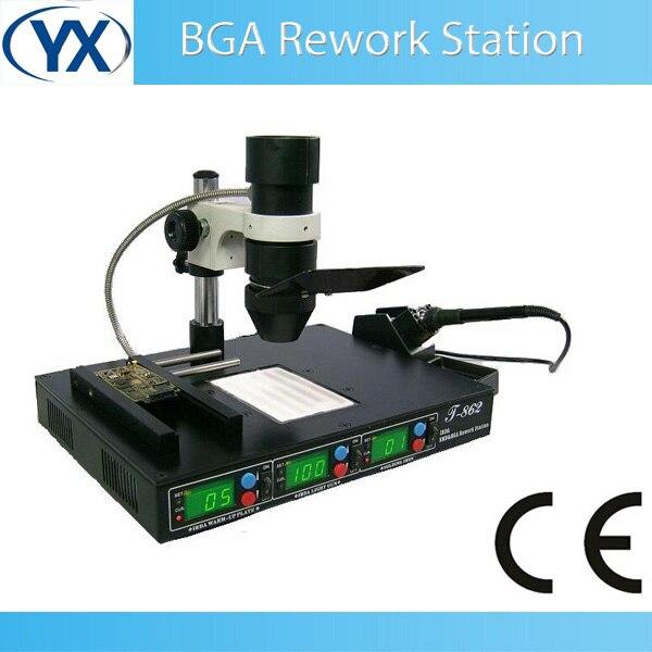 Used bga Rework Station IRDA SMD & BGA Rework Station T862 PCB Assembly Machine