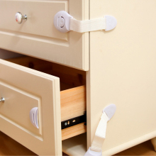 5Pcs/Lot Baby Safety Child Lock Plastic Drawer Door Cabinet Cupboard Locks Protection from Children Care Products