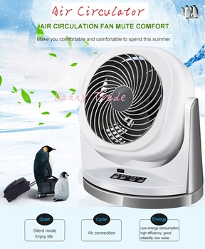 AC220-240v 42w power 3 speeds Electric Air Circulation Turbo Fan air circulator with remote control ventilation fan with timer