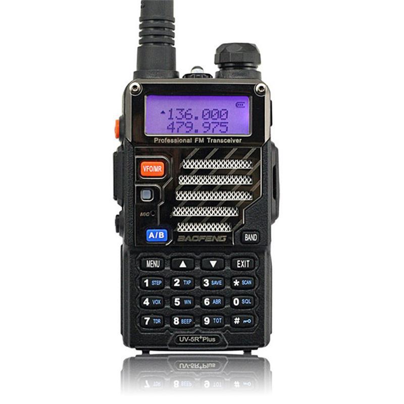 BAOFENG UV-5R Plus talkie-walkie double bande Radio 136-174 Mhz/400-520 Mhz Baofeng UV5R émetteur-récepteur Radio bidirectionnel portable