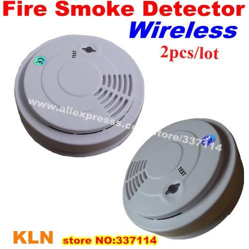 imágenes para Wireless 433 mhz humo alarma detector de fuego para la casa de seguridad - 5