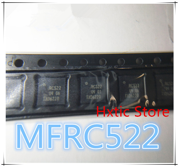 10pcs lot RF IC QFN32 MFRC52202HN1 MFRC52202 MFRC 522 MFRC522 RC522 NEW