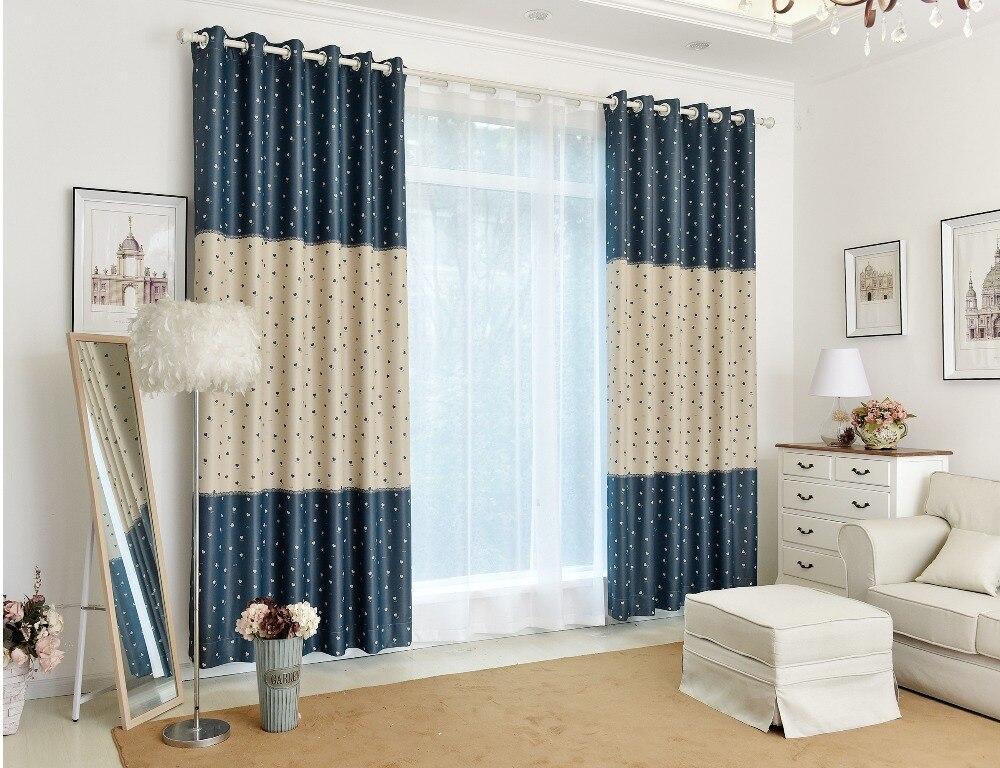 Tende a finestra per salotto. perfect tende per il bagno a righe