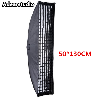 Godox 50*130CM Studio Flash Softbox with Carrying Bag and Honeycomb Grid for Bowens Mount Flash NO00DC цена 2016