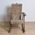 Mobília ao ar livre Cadeira Adirondack Antigo Acabamento Em Resina de Madeira Praia Poltrona Jardim Do Pátio de Lazer Preguiçoso Adirondack Cadeira De Balanço