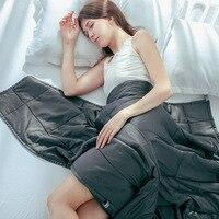 Хлопковое дышащее тяжелое одеяло уменьшает стресс способствует сну одеяло