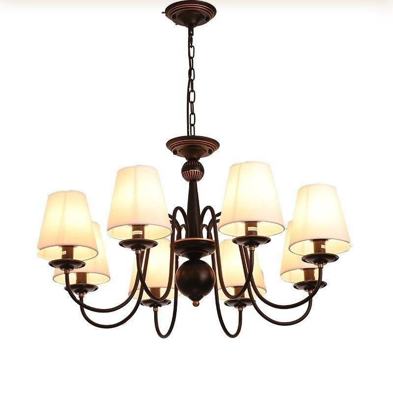 Lampadari Moderni A Sospensione Vintage Hanglampen Voor Eetkamer Fixtures Lampen Modern Luminaria Loft Deco Maison Pendant Light in Pendant Lights from Lights Lighting