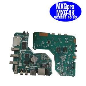 Image 5 - MXQpro MXQ4K anakart akıllı android tv kutusu 7.1 RK3229 1GB 8GB 2GB 16GB anakart PCBA dört çekirdekli tamir