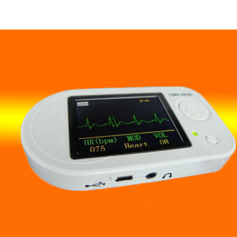 48hr Dispatch! Wholesale CMS-VESD Fonendoscopio New Visual Electronic Stethoscope with ECG, PR ,SPO2 PC software and review data wholesale cms vesd new visual electronic stethoscope with ecg pr vet spo2 pc software and review data adult probe