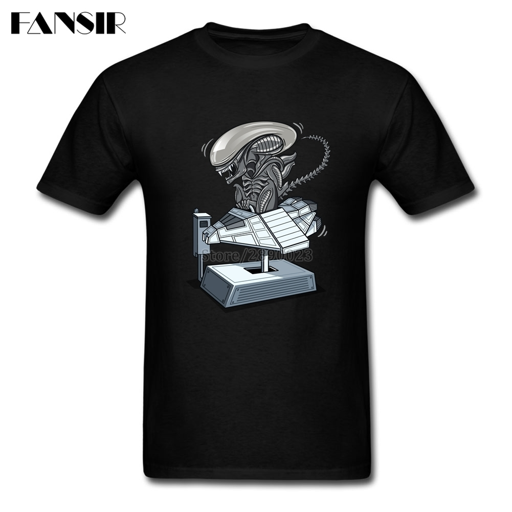 Plain Tee Shirt Mens I Wanna Ride Alien Covenant