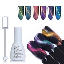 10ml BORN PRETTY Chameleon Cat Eye Gel Polish Magnet Board Magnetic Soak Off UV Gel Varnish Black Base Color Needed