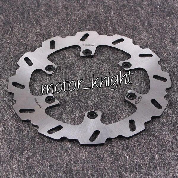wotefusi Motorcycle New Rear Brake Disc Rotor Fit For YAMAHA XJ600 1992-1997 1993 1996 FZ600 1987-1988 FZR600 1989-1993 1990 1991 1992 FZR 600R 1994-1995 FZS600 Fazer 1998-2003 1999 2000 2001 2002