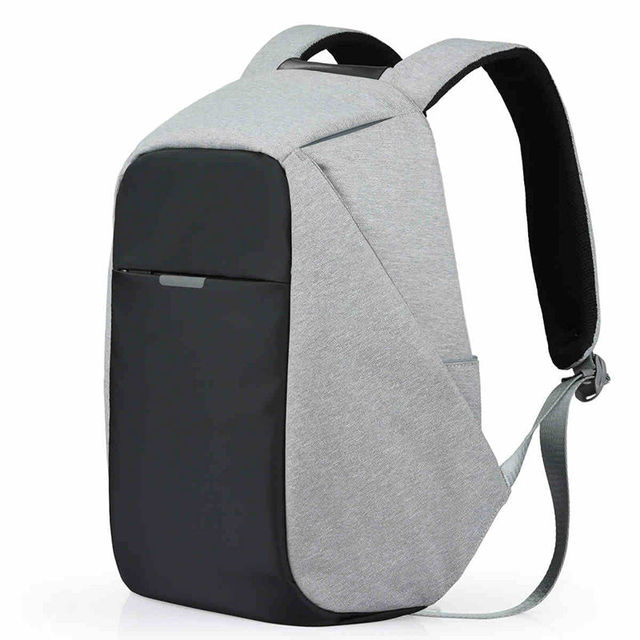 Anti Theft Backpack Travel Bags With Usb Charger Cut Proof Hidden Zipper Secret Pockets Cases